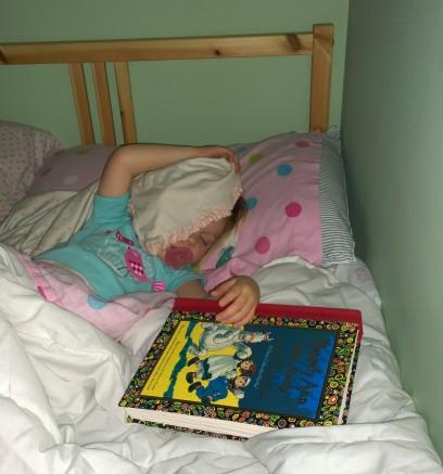 Audrey asleep