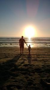 beach dad