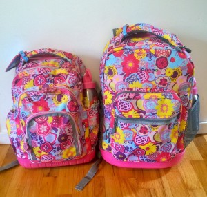 Both backpacks